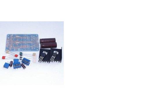 Shanhai LM317 337 Dual Power Supply Adjustable MODULE1 5 18V AC to 2 25V DC Kit for DIY
