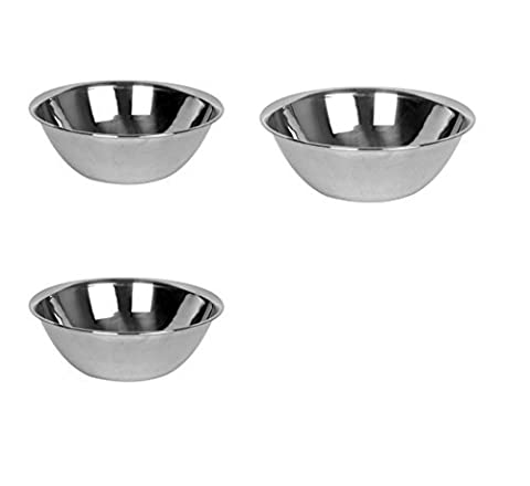 Thunder Group Mixing Bowls Set, 13, 16 & 20-quart