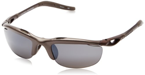 Switch H-wall Wrap Oval Sunglasses,Dark Bronze,58 - Switch Lenses Sunglasses