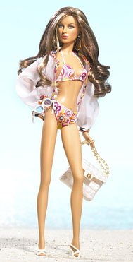 Barbie Model of the Moment: Marisa Beach Baby doll