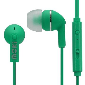 Moki Noise Isolation Earbuds (Green) by Moki