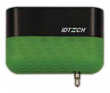ID Technologies ID-80110010-001 Shuttle Secure Mobile MagStripe Reader, Track 1 and 2, Green Two Reader