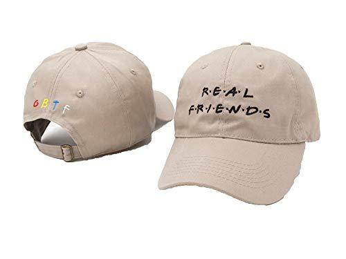 (Real Friends Hat Baseball Cap I Feel Like Pablo Cap Kanye Tumblr Hip Hop Dad Hat Men and Women)