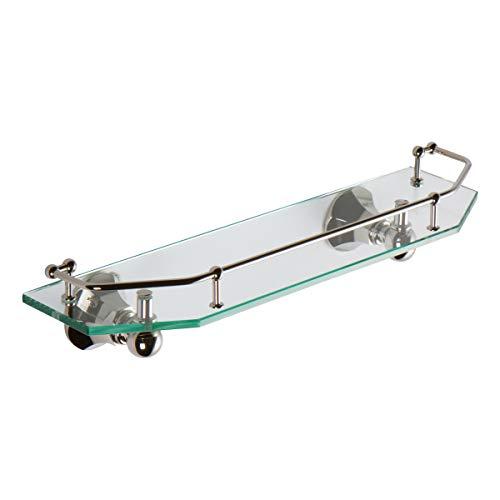 Glass Gallery Rail Shelf - Ginger 635T-18/PN Empire Gallery Rail Shelf, 18