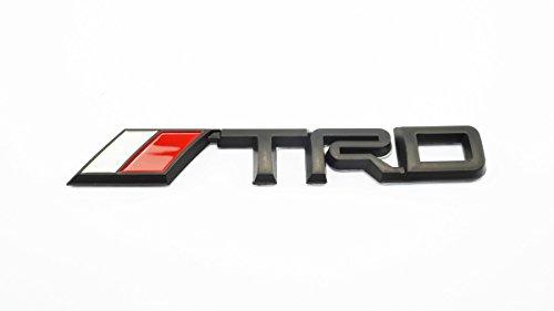 3D TRD Black Plastic Logo Emblem Sticker Decal Badge Trunk (Emblem Plastic Trunk)
