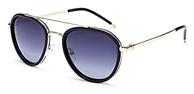 "PRIVE REVAUX ""The Connoisseur"" Handcrafted Designer Aviator Sunglasses"