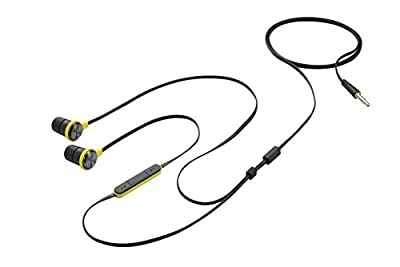 HTC Active Headset for HTC One (M9) - Retail Packaging - Black/Yellow