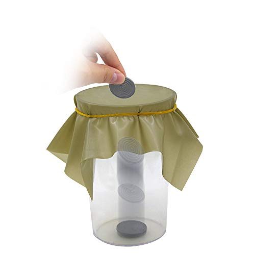 Littleice Magic Props Topy Coin Penetration Dish Coin Thru Rubber Sheet Into Cup Black Hole Magic Trick