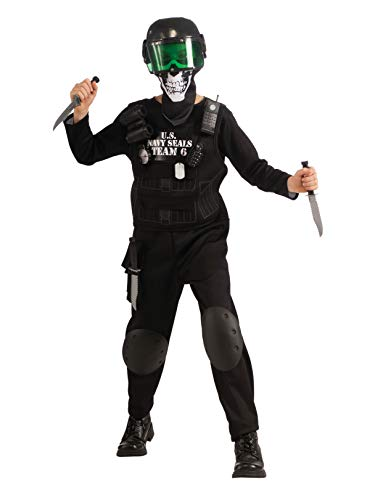 Rubie's - Kids Black Team 6 Costume - (L) ()