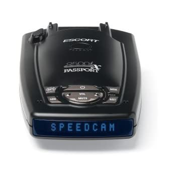 Escort Passport 9500IX Radar/Laser Detector (Black)