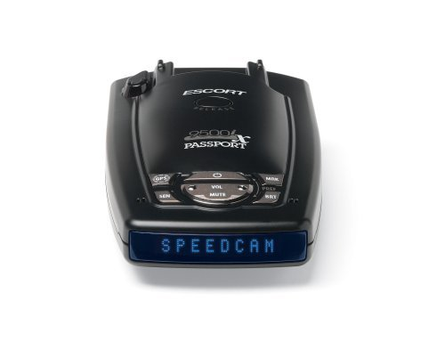 Passport Radar Detector >> Escort Passport 9500ix Radar Laser Detector Black