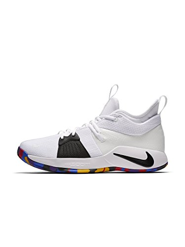 Nike Mens Pg 2 Ts Ep, Bianco / Multicolore Bianco / Multicolore