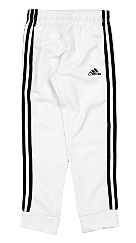 Youth Black Game - adidas Big Boys Youth Game Time Fleece Pants, White Black