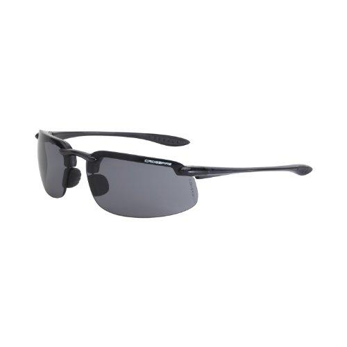 Crossfire Eyewear 2141 ES4 Safety Glasses Smoke - Crossfire Sunglasses