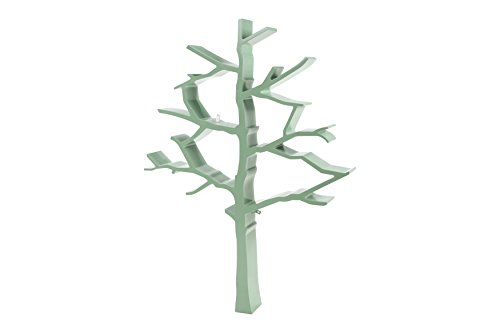 Nursery Works Tree Bookcase, Sage Green Da Vinci Nursery Bookcase