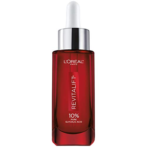 31V5tAxhhQL - L'Oreal Paris Pure Glycolic Acid Face Serum Skin Care I Revitalift Derm Intensives 10% Pure Glycolic Acid Serum I Dark Spot Corrector To Even Tone & Reduce Wrinkles I 1.0 Oz