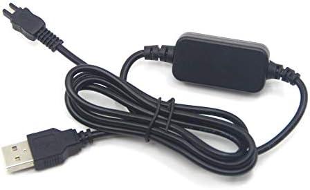 AC-L200 AC-L25A Banco de energía móvil Cable de Cargador USB para Sony DSC-HX1 DCR-UX5 UX7 HDR-XR100 NEX VG30 VG900 DEV-50 FDR-AX33