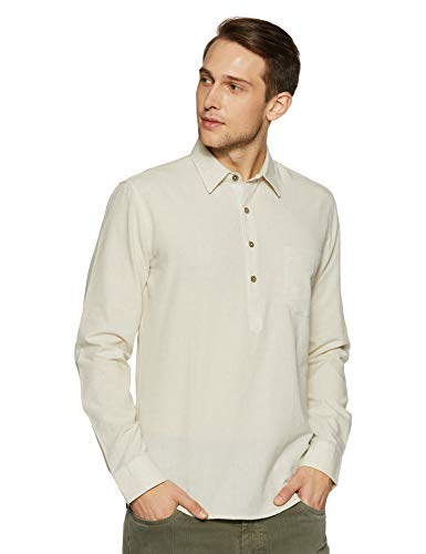 Used, Casual Terrains Men's Classic-Fit Vintage Style Pop-Over for sale  Delivered anywhere in USA