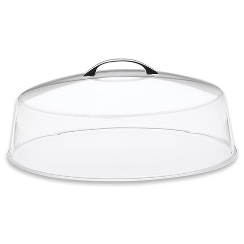 Cal-Mil P311 Cake/Pie Tray, 12 inch D x 9 inch H, Clear