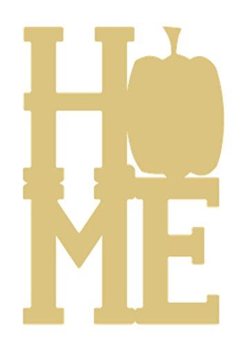 Home-1- Pumpkin Unfinished Wood MDF Cutouts Fall Theme Decor USA Made Halloween, Thanksgiving (6