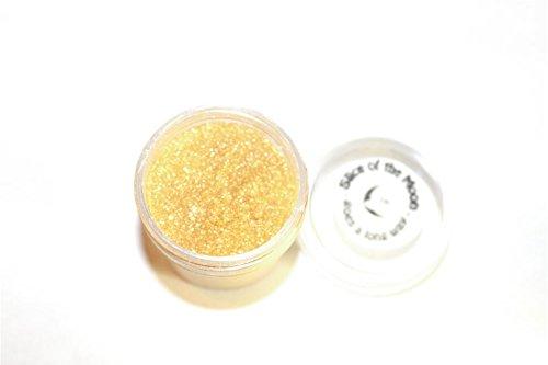 Holographic Dark Blue Glitter Powder 15g – Non-solvent Glitter Powder, Slice of the Moon
