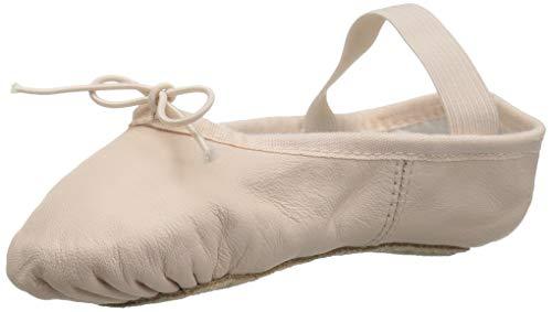 (Bloch Dance Girls' Dansoft Dance Shoe, Theatrical Pink, 6 D US)