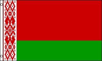 Flag Belarus - 3'x5' BELARUSIAN FLAG OF BELARUS