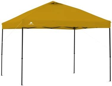 Ozark Trail.. 10 x 10 Straight Leg Instant Canopy Yellow