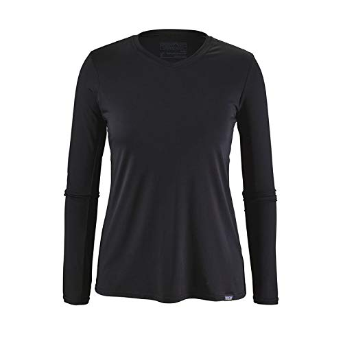 Patagonia Women's Capilene Daily Long-Sleeved T-Shirt - Black - Large ()