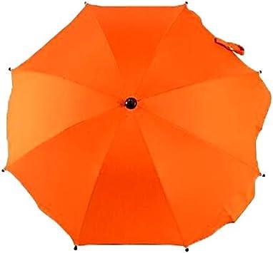 Opinión sobre Productos para bebés LGMIN Ajustables Laciness Paraguas for carros de Golf, cochecitos de bebé/cochecitos de niño y sillas de Ruedas for Proporcionar una protección contra la Lluvia y el Sol (Azure)