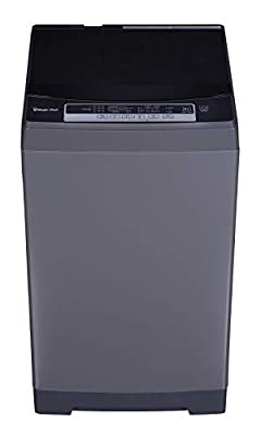 Magic Chef MCSTCW16S4 Stainless Steel 1.6 Cu. Ft. Compact Top-Load Washer