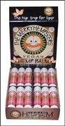 Merry Hempsters, Vegan Hemp Balm, Lip Balm, Cinnamon, .14 oz (4 g) by Merry Hempsters