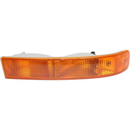 New Front Right Passenger Side Parking Light Assembly For 2003-2018 Chevrolet Express, GMC Savana, Signal/Side Marker, Lens And Housing GM2521188