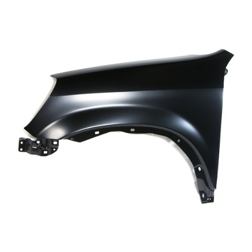 CarPartsDepot, CAPA Certified Driver Left Side Front Fender Primered Without Side Repeater Lamp LH, 371-20272-01-CA HO1240156 60261SCAA90ZZ