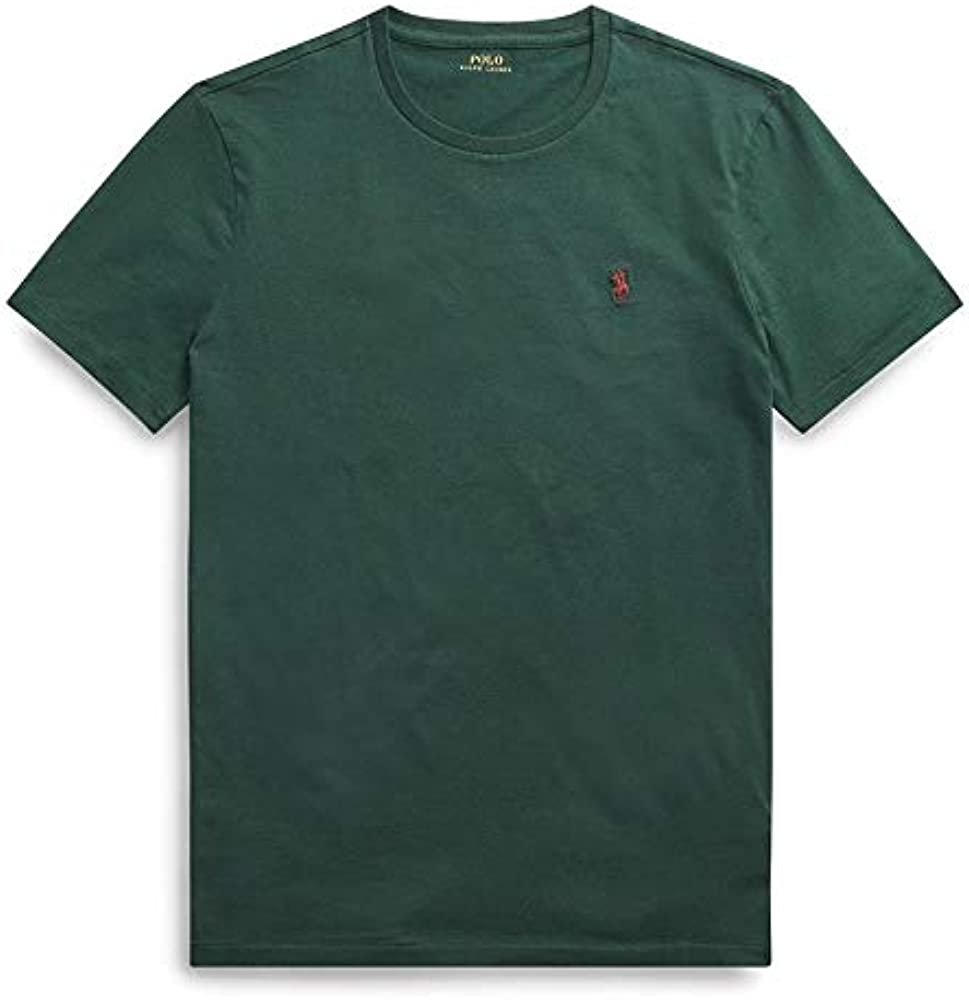 Polo Ralph Lauren Camiseta Sleeve T-Shirt Mujer Verde XXL: Amazon ...