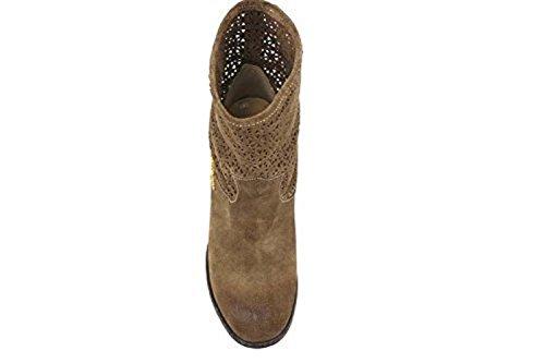 Boots US 35 Braccialini AP634 B Suede EU 5 Brown Ankle 7nTHxwHvqA