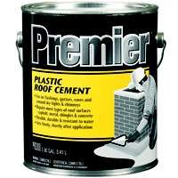 Henry PR300042 Premier Plastic Roof Cement, 1 Gallon Can, Black (Pack Of 4