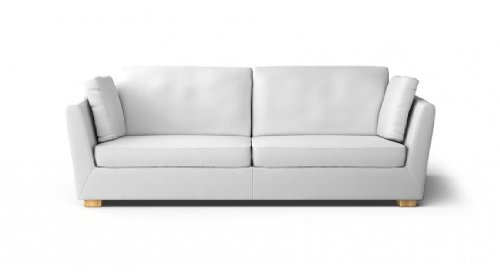 Ikea Stockholm 3.5 Seat Sofa Slipcover Rostanga White: Amazon.co.uk:  Kitchen U0026 Home