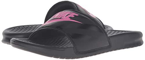 Nike Atletica Rosa Sandali Slide Jdi Nero Benassi Donna Da rwtArv8Xxq