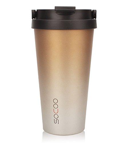 coffee commuter travel mugs with handle for women men 16oz portable leakproof 736140215249 ebay. Black Bedroom Furniture Sets. Home Design Ideas