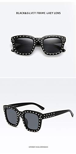 HUBINGRONG - Gafas de Sol polarizadas para Mujer, diseño a ...