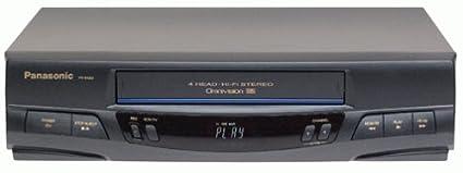 amazon com panasonic pv 9450 4 head hi fi vcr electronics rh amazon com Panasonic Studio Camera panasonic pv-v4520 manual