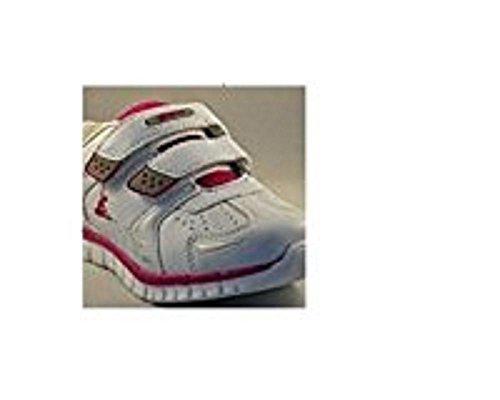 LEGEA Scarpe AMOCAR Bianco/Fuxia EU33 UK1 CM22