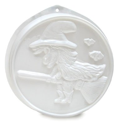 CK Products Witch On Broom Pantastic Plastic Cake Pan
