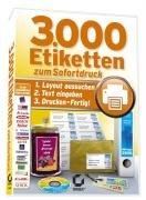 3.000 Etiketten zum Sofortdruck