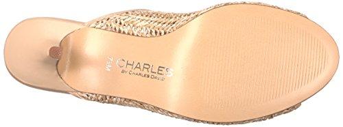 Charles Door Charles David Womens Niko Dress Sandal Natural