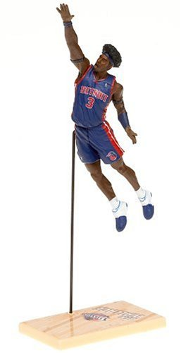 (McFarlane's Sportspicks 2005 NBA Ben Wallace of the Detroit Pistons 2nd Edition 3 Inch Figure)