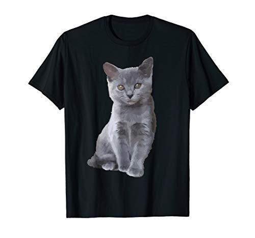 - Blue Russian Cat Shirt - Blue Russian Cat T shirt