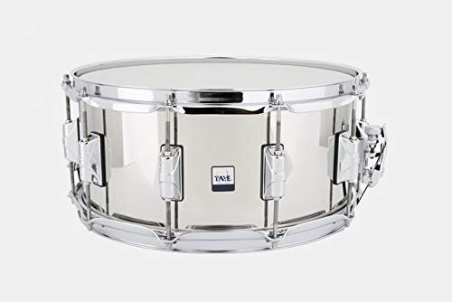 Taye Drums SS1465 14 x 6.5 Inch Stainless Steel Snare Drum by Taye Drums