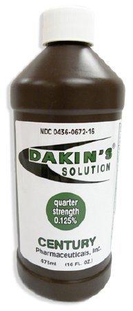 Dakin's Solution .125% Quarter Strength 16oz Bottle (Each), # 1442755 by Dakin's